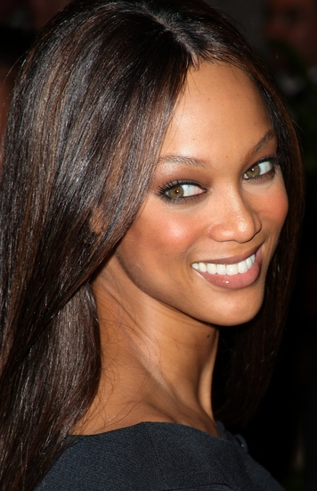 Tyra Banks at 2009 White House Correspondents Dinner