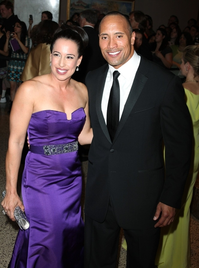 Dwayne Johnson & wife Dany Garcia
