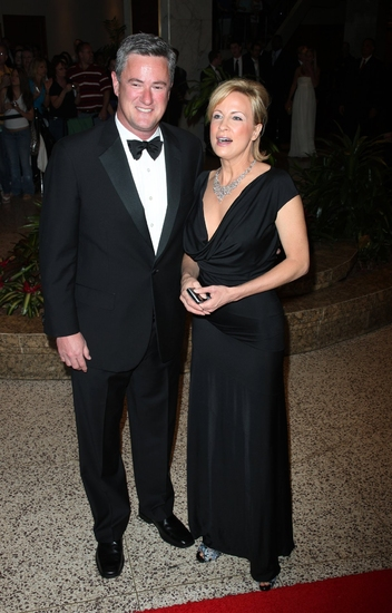 Joe Scarborough & wife Susan Waren