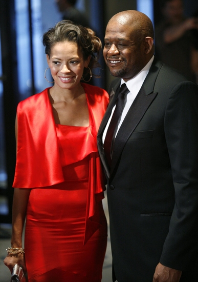 Forrest Whitaker & wife Keisha Whitaker