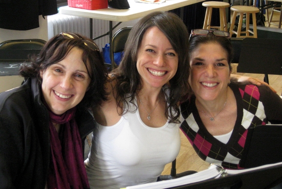 Karen Elliott, Staci Rudnitsky and Laura Patinkin at Wallenberg Reading At The Hilton Theatre Studios In NYC