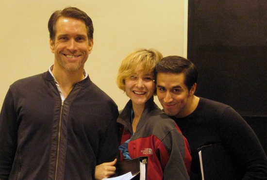 Photo Flash: Wallenberg Reading At The Hilton Theatre Studios In NYC