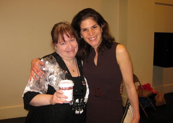 Music Director Sariva Goetz and Laura Patinkin