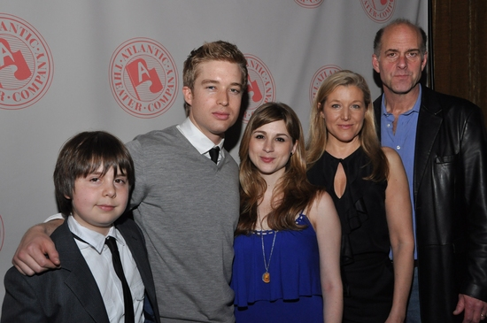 Homeland Security's family, Daniel Yelsky, Daniel Abeles, Aya Cash, Mary McCann and John Bedford Lloyd