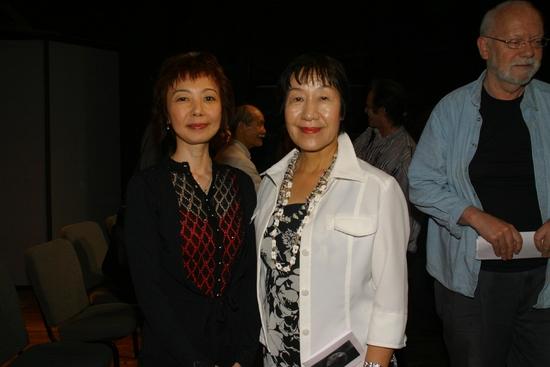 Playwright Chiori Miyagawa and Ms. Toshiko Tanaka