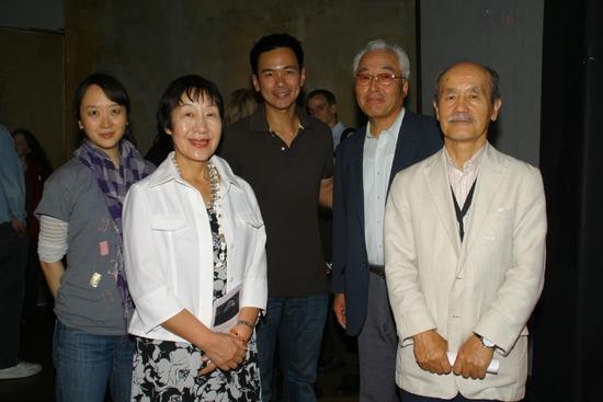 Sue Jean Kim, Ms. Toshiko Tanaka, Joel de la Fuente, Mr. Takehisa Yamamoto and Mr. Hiro Iso