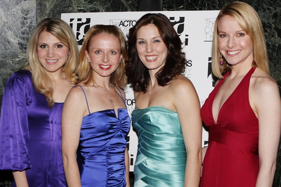 Annaleigh Ashford, Catherine Brunell, Mara Davi and Meredith Patterson