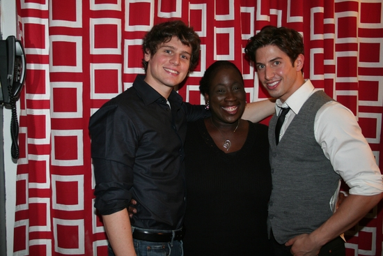 Jonathan Groff, Yolanda Culler and Nick Adams