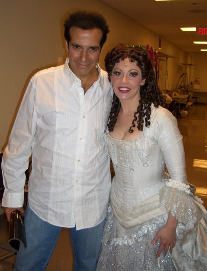 David Copperfield and Kristi Holden