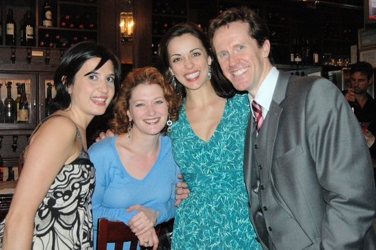 Mary Giattino, Kerry O'Malley,Erin Denman and Jeffry Denman