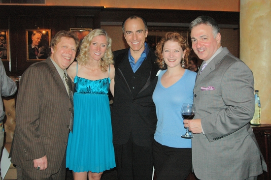 Robert R. Blume (Drama Desk Awards Producer) Stacia Teele, William Michals, Kerry O'Malley, and Joseph Callari (Assoc. Producer Drama Desk Awards)