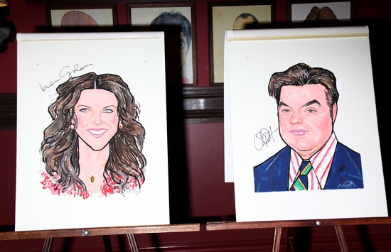 Lauren Graham and Oliver Platt