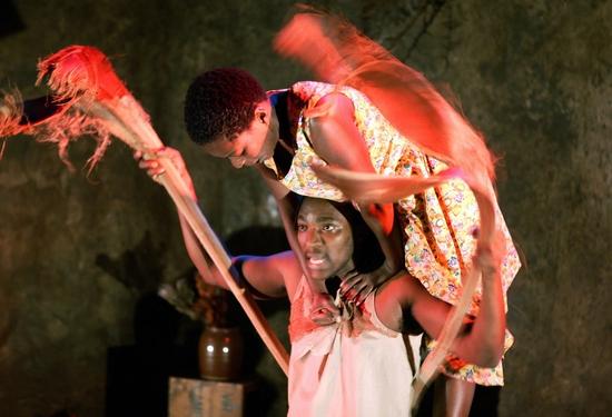 Mdu Kweyama and Chuma Sopotela