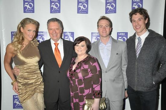 Heidi Albertsen (ambassador to the LESC), Stanley Zareff, Kathy Brier, Bret Shuford and Stephen Hanna