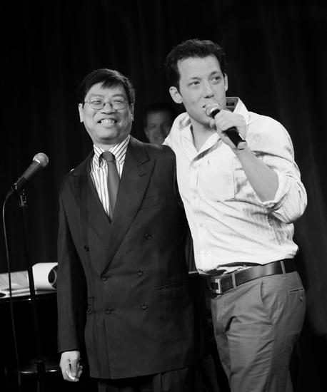 Wayman Wong and John Tartaglia