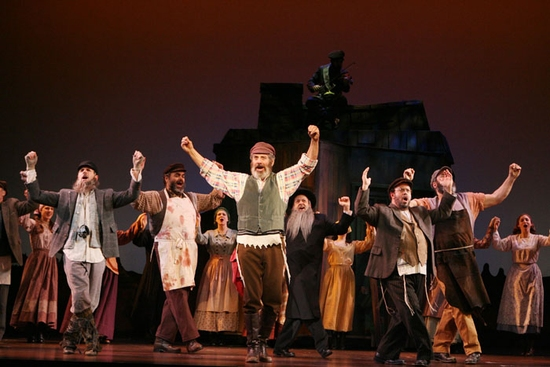 Photo Flash Topol Schleps Into San Diego Civic Theatre In