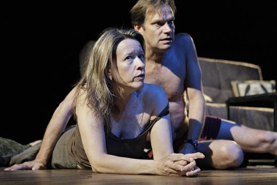 Linda Emond and Mark Benninghofen