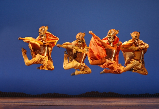 Photo Flash: THE LION KING In Las Vegas At Mandalay Bay Theatre