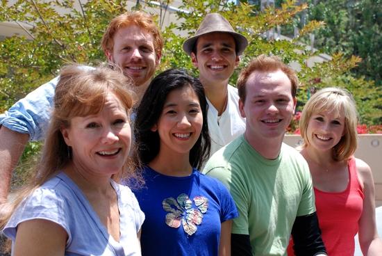 Jennifer Parsons, Justin Michael Duval, Jennifer Chang, Justin Figueroa, Brian Hostenske and Erika Whalen