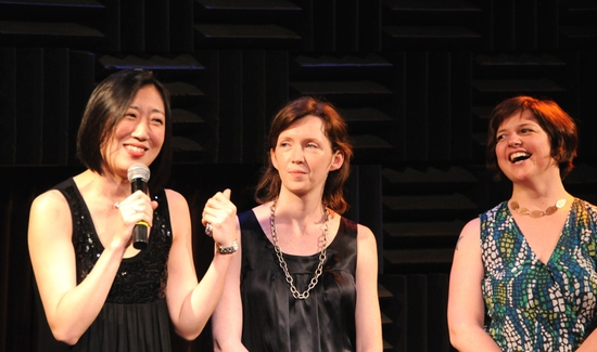 Young Jean Lee, Katherine Ryan and Erin Courtney
