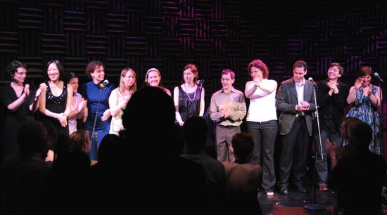 Julia Jarcho, Young Jean Lee, Winter Miller, Ann Marie Healy, Anne Washburn, Sarah Ruhl, Katherine Ryan, Rob Handel, Lucy Thurber, Gary Winter, Madeleine George and Erin Country