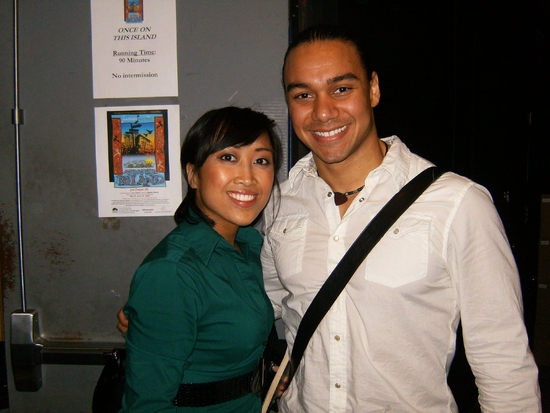 Jastine Dumlao and Glenn Stanton