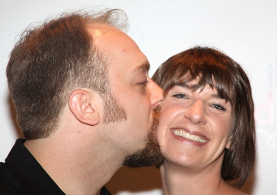Alexander Gemignani and wife, Erin Ortman