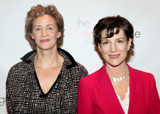 Janet McTeer and Harriet Walker