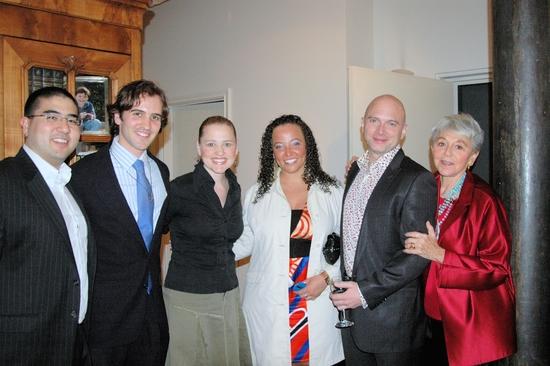 Justin Hatchimonji, Andy Sandberg, Anika Larsen, Kameka Dempsey, Michael Cerveris and Eva Haller
