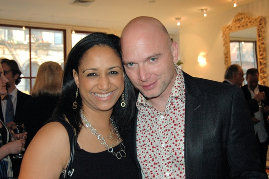 Melissa Fenton Herrod (city Lights Youth Theatres, Inc.)and Michael Cerveris