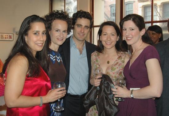 Monica Yunus, Julie Pitman, Michael Pitman, Polly Brandmeyer and Camille Zamora