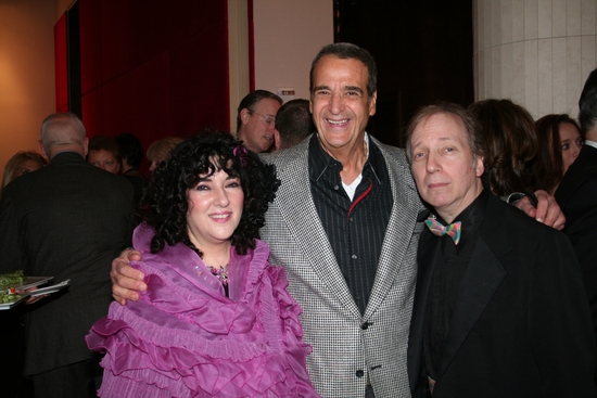 Barbara Siegel, Joey Reynolds and Scott Seigel