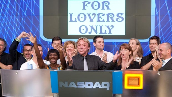 Photo Flash: FOR LOVERS ONLY Rings NASDAQ Closing Bell
