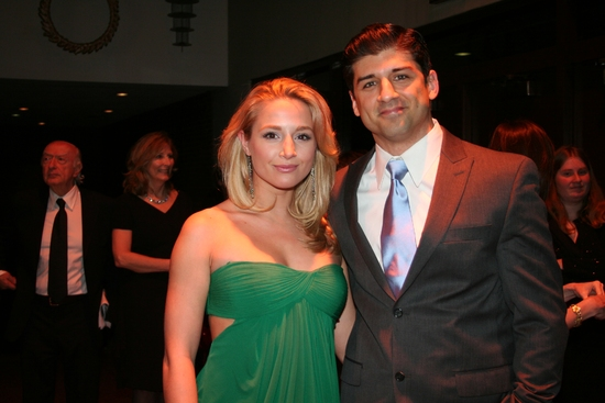 Jessica Goodwin and Tony Yazbeck