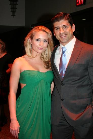 Jessica Goodwin and Tony Yazbeck