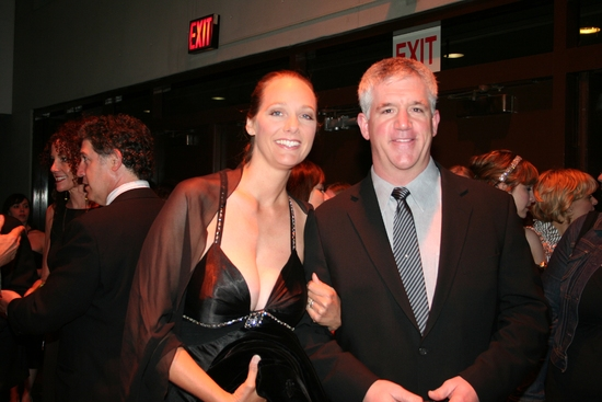 Julie Jbara and Gregory Jbara