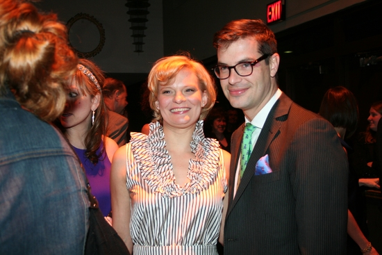 Martha Plimpton and Fred Armisen at 2009 Drama Desk Awards Arrivals Part 2