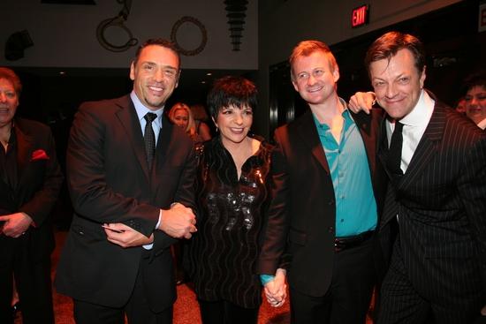 Tiger Martina, Liza Minelli, Johnny Rogers and Jim Caruso Photo