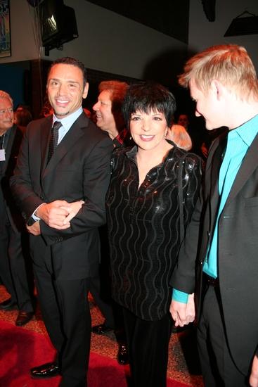 Tiger Martina, Liza Minelli and Johnny Rogers Photo