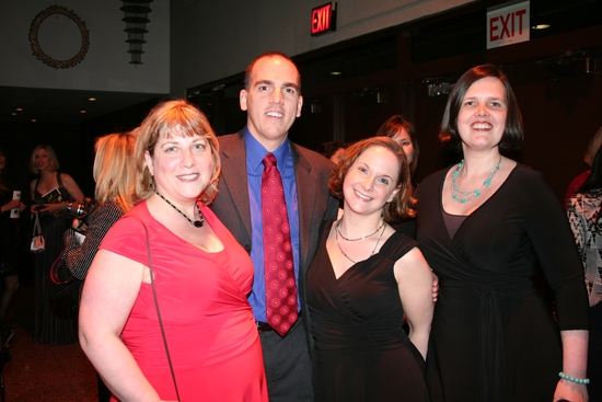 Janine Nina Trevens, Jim Colleran, Amy Fiore and Joanna Greer at 2009 Drama Desk Awards Arrivals Part 2