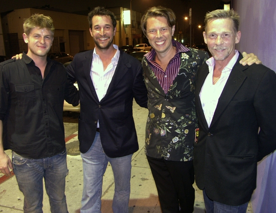Michael Grant Terry, Noah Wyle, Daniel Henning and Dennis Christopher