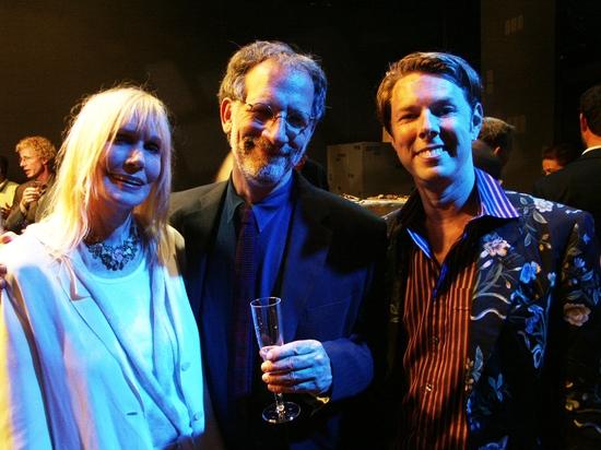 Sally Kellerman, Mark Saltzman and Daniel Henning