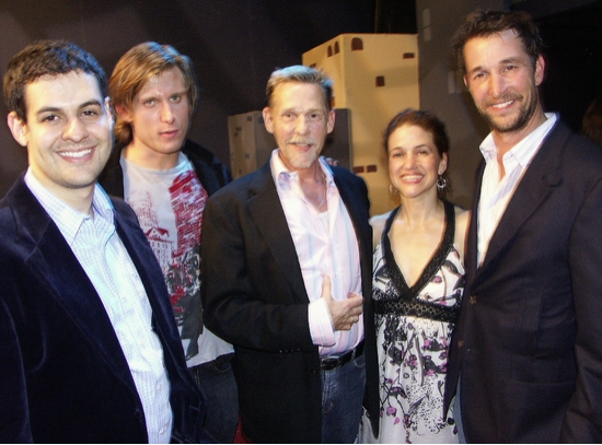 Andrews Leeds, P.J. Griffith, Dennis Christoper, Hedy Burress and Noah Wyle