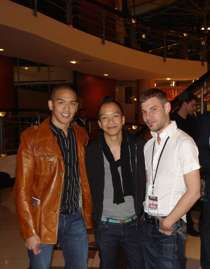 Robin Yap Young, Project Runway's Sunny Fong and Jason Milot