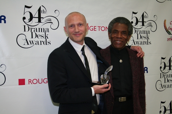 Peter Darling and Andre De Shields
