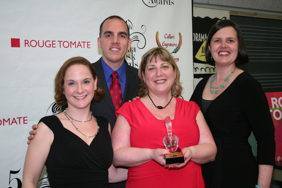 Amy Fiore, Jim Colleran, Janine Nina Trevens and Joanna Greer - Outstanding Ensemble Performances - To: TADA! Youth Theater for providing an invaluable contribution to the future of the theater. The company makes outstanding training and experience access