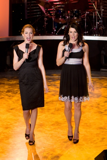 Kate Jennings and Lauren Graham
