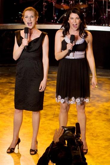 Kate Jennings and Lauren Graham
