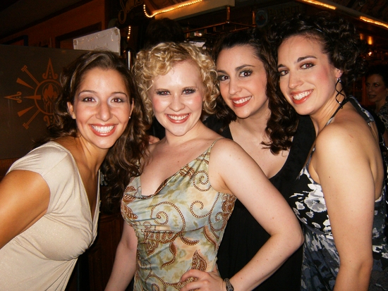 Photo Flash: Opening Night Reception For CRAZY FOR YOU