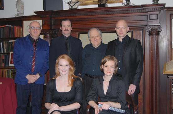David Rooney, Bradford Cover, David Maruelies, Michael Cerveris, Kate Baldwin and Liz Photo